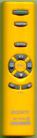 SONY A-3172-080-A RMTCE95A - YELLOW Refurbished Genuine OEM Remote