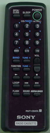 SONY A-3250-870-A RMTCS47A Genuine  OEM original Remote