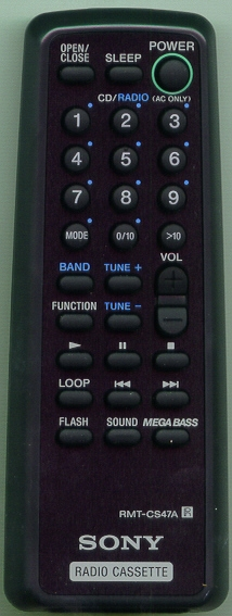 SONY A-3250-870-A RMTCS47A Refurbished Genuine OEM Original Remote