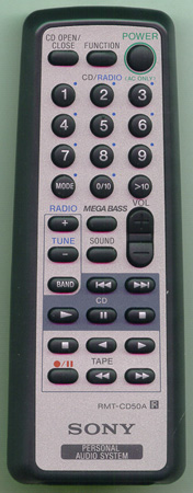 SONY A-3250-873-A RMTCD50A Genuine  OEM original Remote