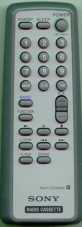 SONY A-3250-909-A RMTCZ550A Genuine  OEM original Remote