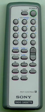 SONY A-3250-915-A RMTCZW750A Genuine  OEM original Remote