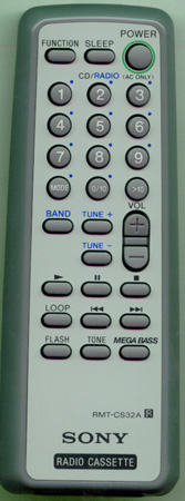 SONY A-3258-003-A RMTCS32A Genuine  OEM original Remote