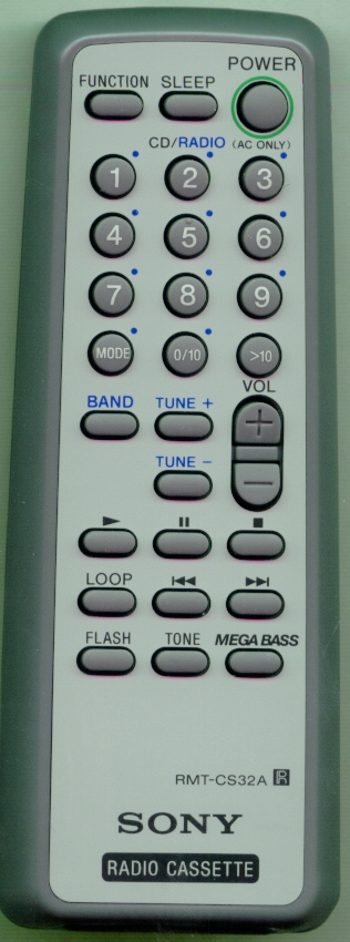 SONY A-3258-003-A RMTCS32A Refurbished Genuine OEM Original Remote