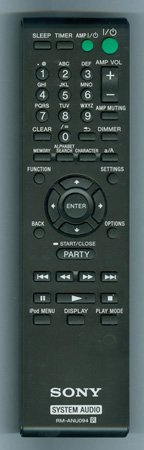 SONY RM-ANU094 RMANU094 Genuine  OEM original Remote