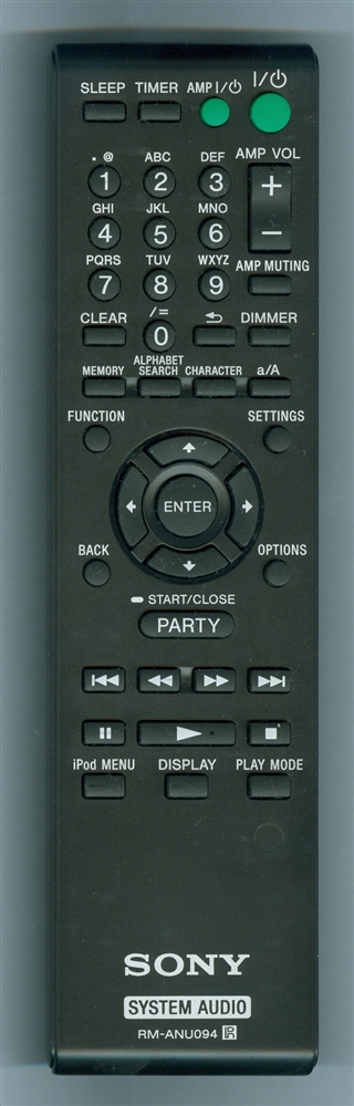 SONY RM-ANU094 RMANU094 Refurbished Genuine OEM Original Remote