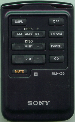SONY RMX35 RMX35 Refurbished Genuine OEM Original Remote