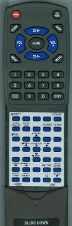 SONY 1-418-550-11 RMTV2 Custom Built Redi Remote