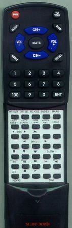 SONY 1-465-474-21 RMTV373A Custom Built Redi Remote