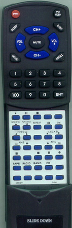 SONY 1-465-502-11 RMTC770 Custom Built Redi Remote