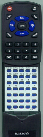 SONY 1-465-733-11 RMD315 Custom Built Redi Remote