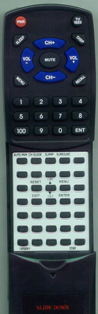 SONY 1-465-806-11 RM791 Custom Built Redi Remote