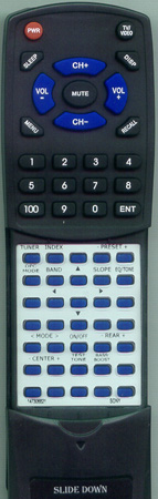SONY 1-467-638-11 RMP341 Custom Built Redi Remote