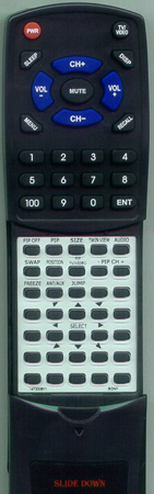 SONY 1-473-306-11 RMY128 Custom Built Redi Remote