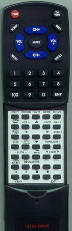 SONY 1-467-383-11 RMTV140A Custom Built Redi Remote
