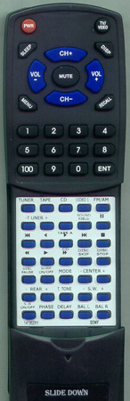SONY 1-473-218-11 RMU651 Custom Built Redi Remote