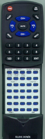 SONY 1-473-631-11 RMU263 Custom Built Redi Remote