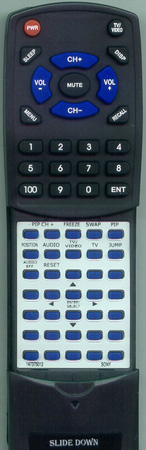 SONY 1-473-750-12 RMY137 Custom Built Redi Remote