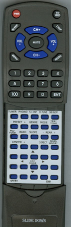 SONY 1-475-135-11 RMU501 Custom Built Redi Remote