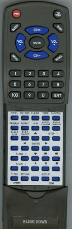 SONY 1-475-688-11 RMTD105A Custom Built Redi Remote