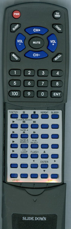 SONY 1-476-192-11 RMSX1 Custom Built Redi Remote