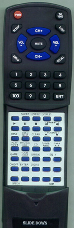 SONY 1-476-513-11 RMSR200 Custom Built Redi Remote