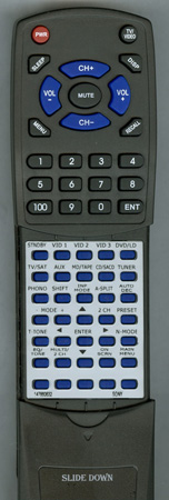 SONY 1-476-606-32 RMPP506 Custom Built Redi Remote