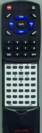 SONY 1-476-680-11 RMY180 Custom Built Redi Remote