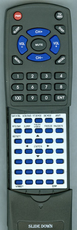 SONY 1-476-682-11 RMY183 Custom Built Redi Remote