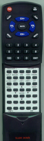 SONY 1-418-834-11 RMPJVW10 Custom Built Redi Remote