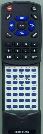 SONY 1-477-110-11 RMX117 Custom Built Redi Remote