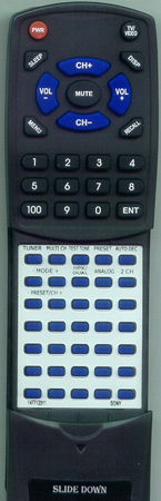 SONY 1-477-123-11 RMPP411 Custom Built Redi Remote