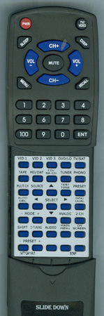 SONY 1-477-124-11 RMPG411 Custom Built Redi Remote