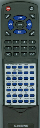 SONY 1-477-224-11 RMSGS3 Custom Built Redi Remote