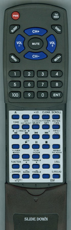 SONY 1-477-277-11 RMSCEX5 Custom Built Redi Remote