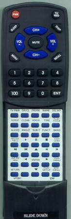 SONY 1-477-335-11 RMSS450 Custom Built Redi Remote