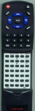 SONY 1-477-472-11 RMX123 Custom Built Redi Remote