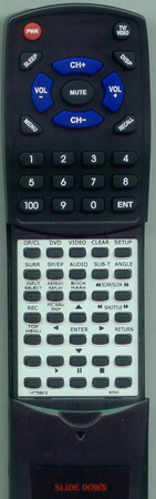 SONY 1-477-582-11 RMTV501 Custom Built Redi Remote