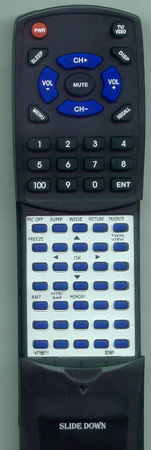 SONY 1-477-687-11 RM927Y Custom Built Redi Remote