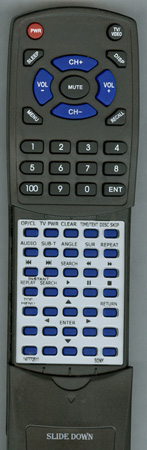 SONY 1-477-725-11 RMTD154A Custom Built Redi Remote