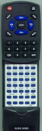 SONY 1-477-794-11 RMPG412 Custom Built Redi Remote