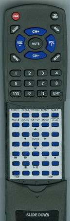 SONY 1-478-041-11 RMX135 Custom Built Redi Remote