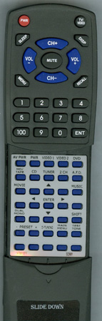 SONY 1-478-617-11 RMU755 Custom Built Redi Remote