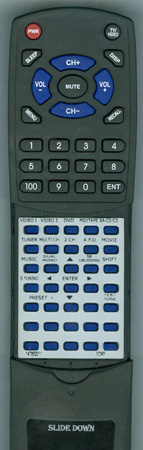 SONY 1-478-620-11 RMPP860 Custom Built Redi Remote