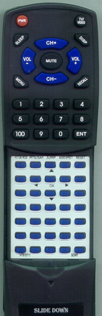 SONY 1-478-707-11 RMY195 Custom Built Redi Remote