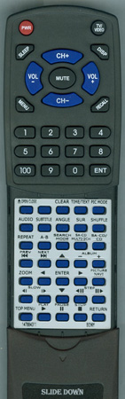 SONY 1-478-843-11 RMTD171A Custom Built Redi Remote