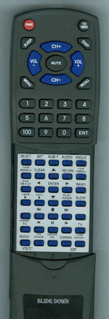 SONY 1-479-215-11 RMAMU002 Custom Built Redi Remote