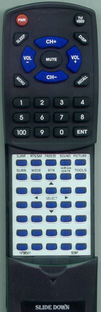SONY 1-479-604-11 RMYA003 Custom Built Redi Remote
