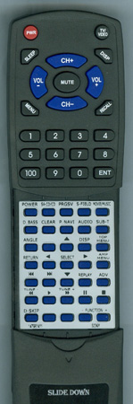 SONY 1-479-614-11 RMADP008 Custom Built Redi Remote