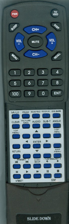 SONY 1-479-643-11 RMADP010 Custom Built Redi Remote
